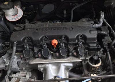 honda hrv r18 ENGINE HALFCUT