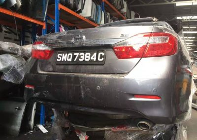 TOYOTA CAMRY ACV50 2.5CC FRONT CUT AND REAR CUT