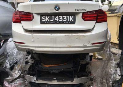 BMW F30 2.0CC (N20B20B) FRONT CUT AND REAR CUT