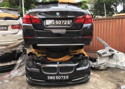 BMW F10 2.0CC (N20B20B) FRONT CUT AND REAR CUT