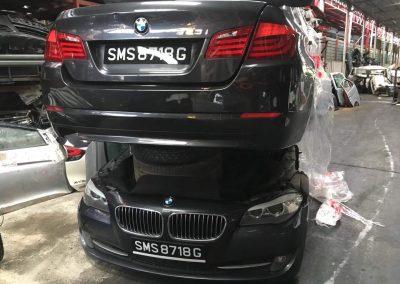 BMW F10 523I (N52B25AF) FRONT CUT AND REAR CUT