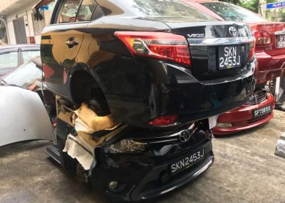 TOYOTA VIOS NCP150 1NZ FRONT CUT AND REAR CUT