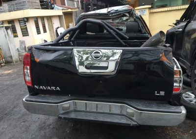 NISSAN NAVARA D40 (YD25) AT 4WD FRONT CUT AND REAR CUT