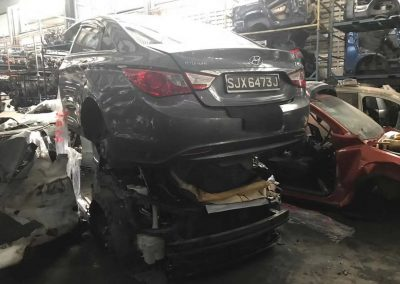 HYUNDAI SONATA7 I45 2.0CC (G4KD) FRONT CUT AND REAR CUT
