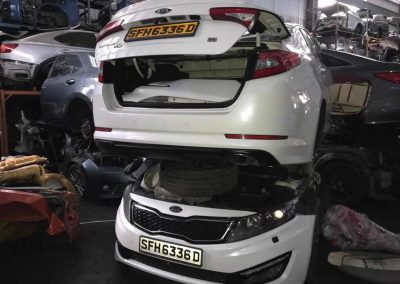 KIA OPTIMA K5 2.0CC (G4KD) FRONT CUT AND REAR CUT