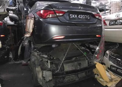 HYUNDAI SONATA7 I45 G4NA 2ND 2.4CC FRONT CUT AND REAR CUT
