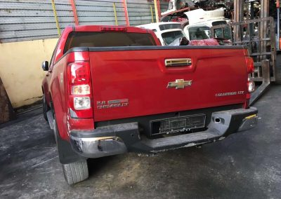 CHEVROLET COLORADO LTZ 2.8CC AUTO 6SPEED 4WD FRONT CUT AND REAR CUT