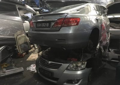 TOYOTA CAMRY ACV40 2.4CC AUTO FRONT CUT AND REAR CUT