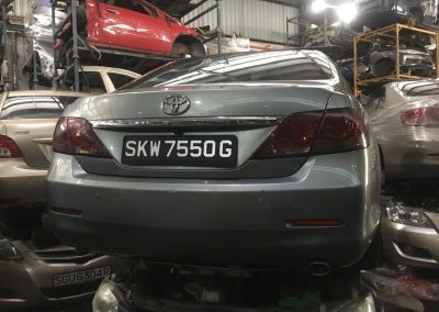 TOYOTA CAMRY ACV40 2.0CC AUTO FRONT CUT AND REAR CUT