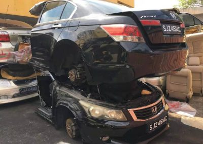 HONDA ACCORD TAO 2.0CC FRONT CUR AND REAR CUT
