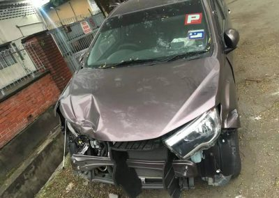 PERODUA BEZZA FRONT CUT AND REAR CUT
