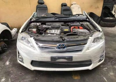 TOYOTA CAMRY ACV50 2.5CC HYBIRD FRONT CUT AND REAR CUT