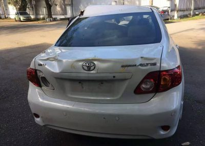 TOYOTA ALTIS 142 FRONT CUT AND REAR CUT