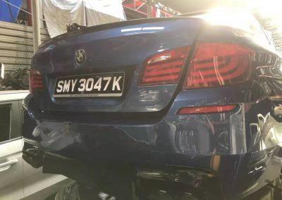 BMW F10 3.0CC (N53B30A) FRONT CUT AND REAR CUT