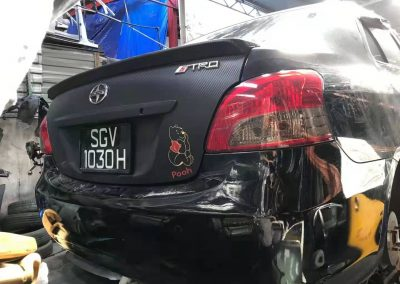 TOYOTA VIOS NCP93 MT FRONT CUT AND REAR CUT
